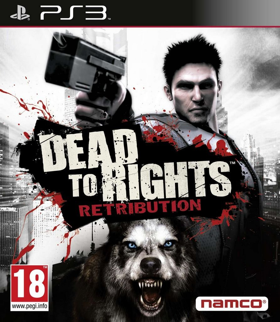 Dead To Rights: Retribution Video Game Back Title by WonderClub