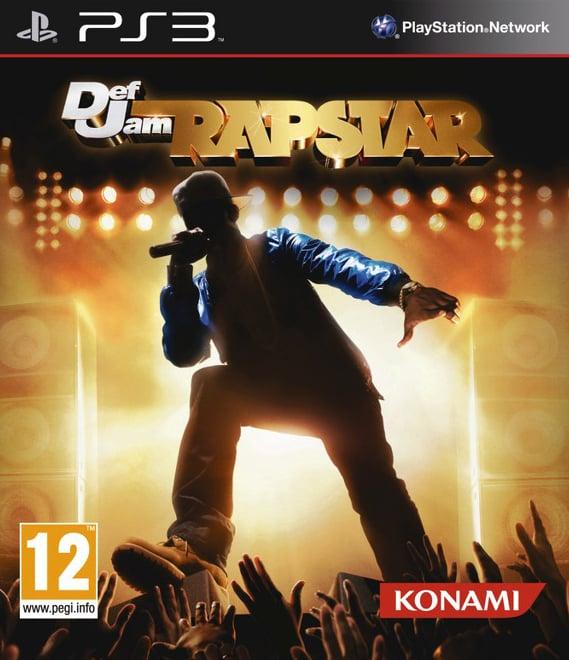 Def Jam Rapstar Video Game Back Title by WonderClub