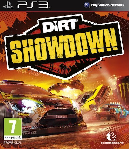 Dirt: Showdown Video Game Back Title by WonderClub