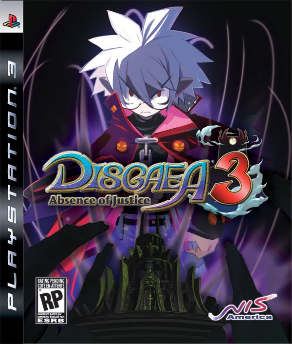 Disgaea 3: Absence Of Justice Video Game Back Title by WonderClub