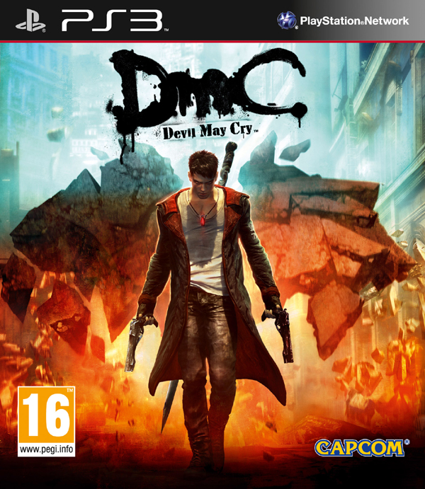 DmC: Devil May Cry Video Game Back Title by WonderClub