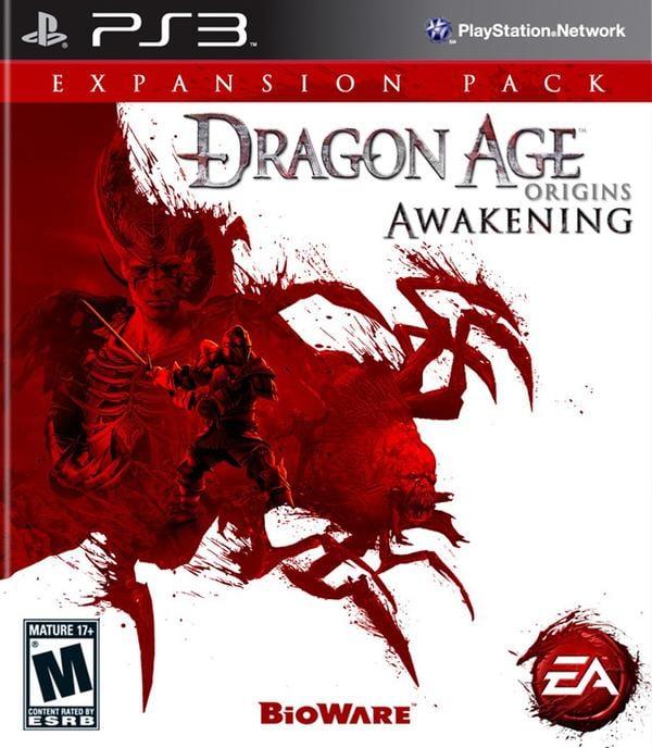 Dragon Age: Origins – Awakening Video Game Back Title by WonderClub