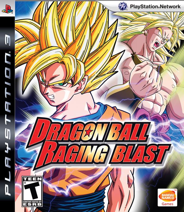 Dragon Ball: Raging Blast Video Game Back Title by WonderClub