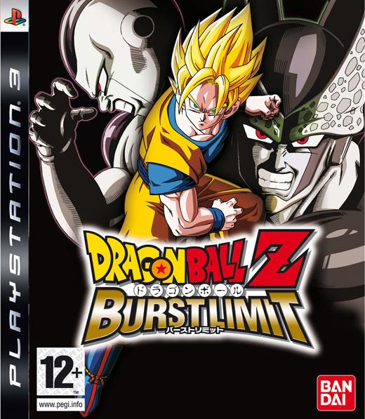 Dragon Ball Z: Burst Limit Video Game Back Title by WonderClub