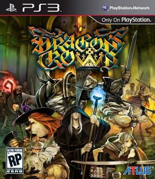 Dragon's Crown Video Game Back Title by WonderClub