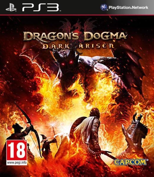 Dragon's Dogma: Dark Arisen Video Game Back Title by WonderClub