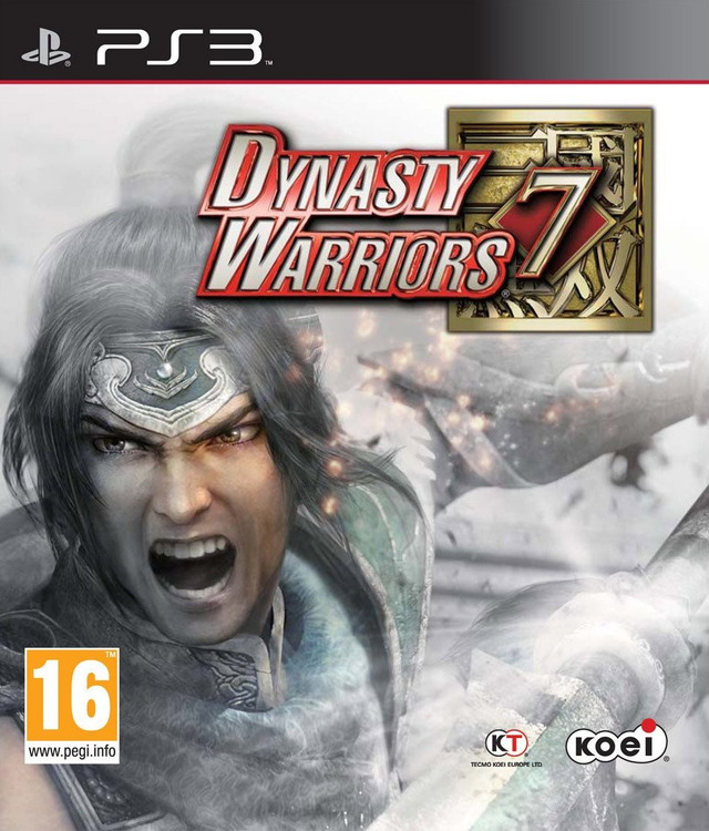 Dynasty Warriors 7 Video Game Back Title by WonderClub