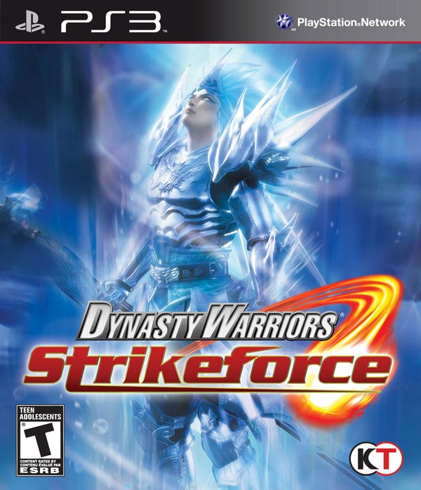 Dynasty Warriors: Strikeforce Video Game Back Title by WonderClub
