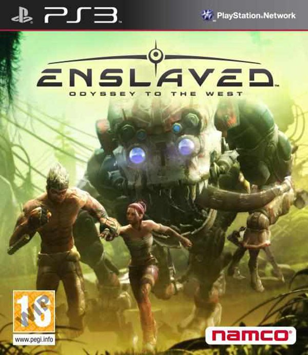 Enslaved: Odyssey To The West Video Game Back Title by WonderClub