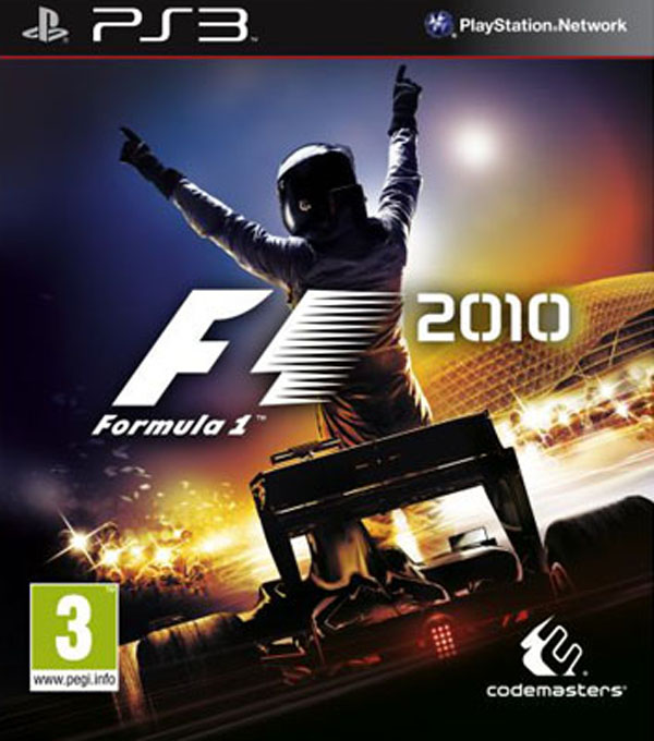 F1 2010 Video Game Back Title by WonderClub