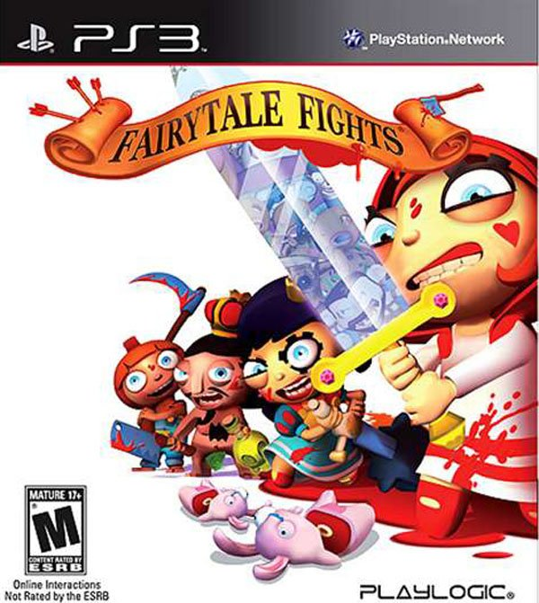 Fairytale Fights Video Game Back Title by WonderClub