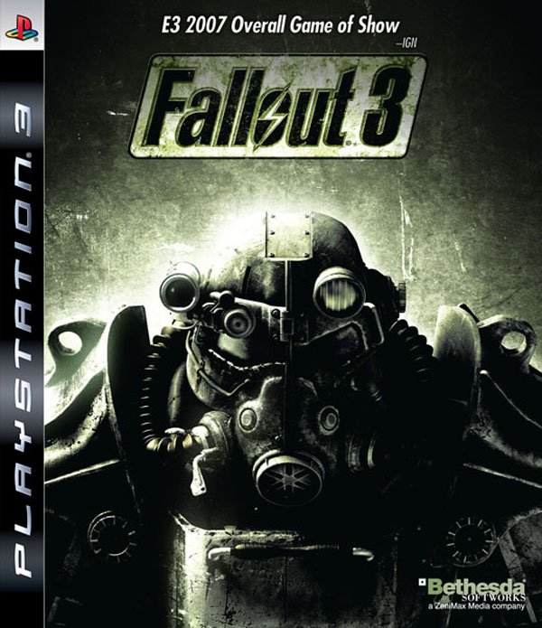 Fallout 3 Video Game Back Title by WonderClub