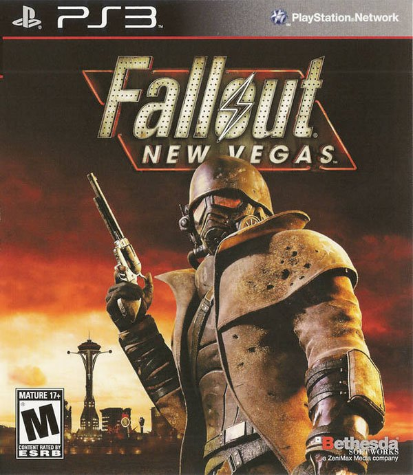 Fallout: New Vegas Video Game Back Title by WonderClub