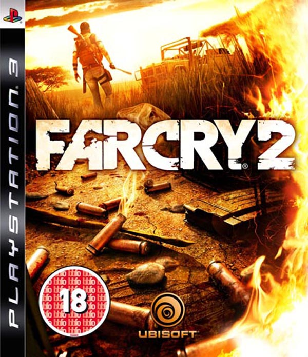 Far Cry 2 Video Game Back Title by WonderClub