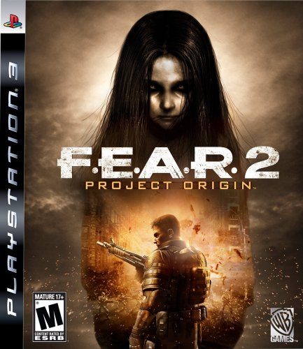 F.E.A.R. 2: Project Origin Video Game Back Title by WonderClub
