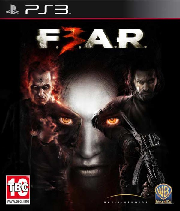 F.E.A.R. 3 Video Game Back Title by WonderClub