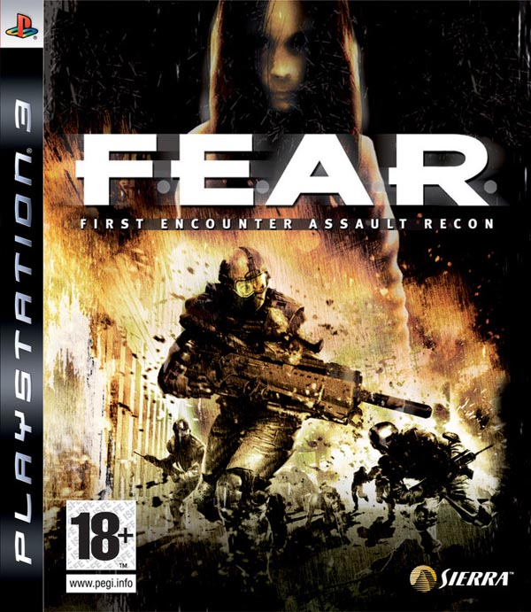 F.E.A.R. Video Game Back Title by WonderClub
