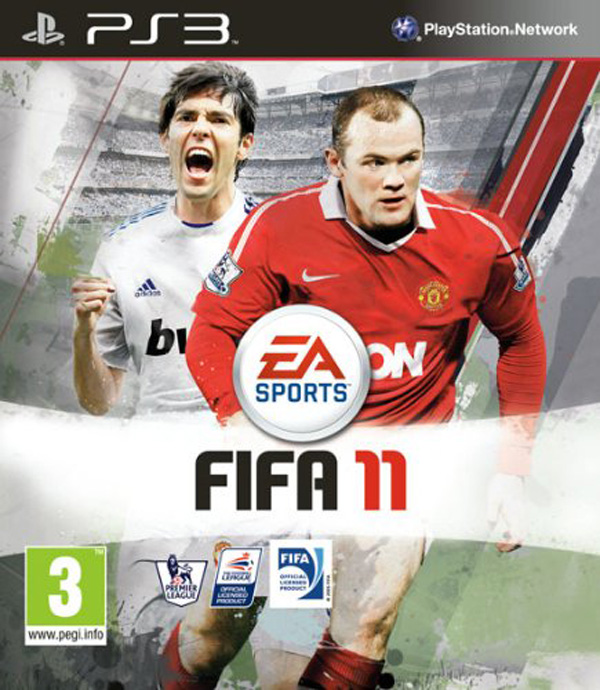 FIFA 11 Video Game Back Title by WonderClub