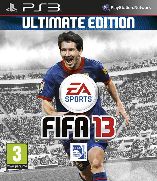 FIFA 13 Video Game Back Title by WonderClub