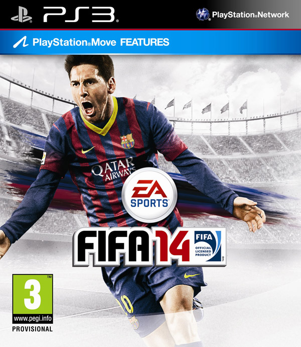 FIFA 14 Video Game Back Title by WonderClub