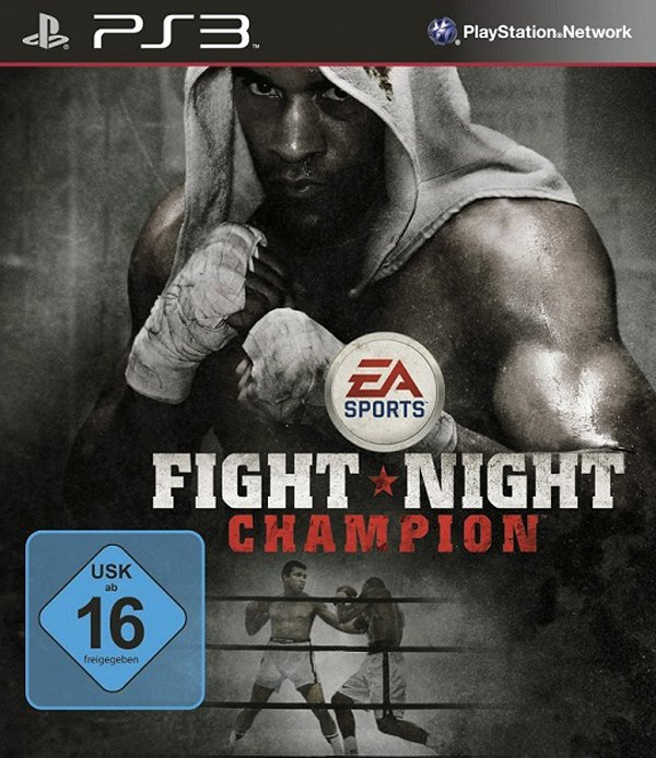Fight Night Champion Video Game Back Title by WonderClub