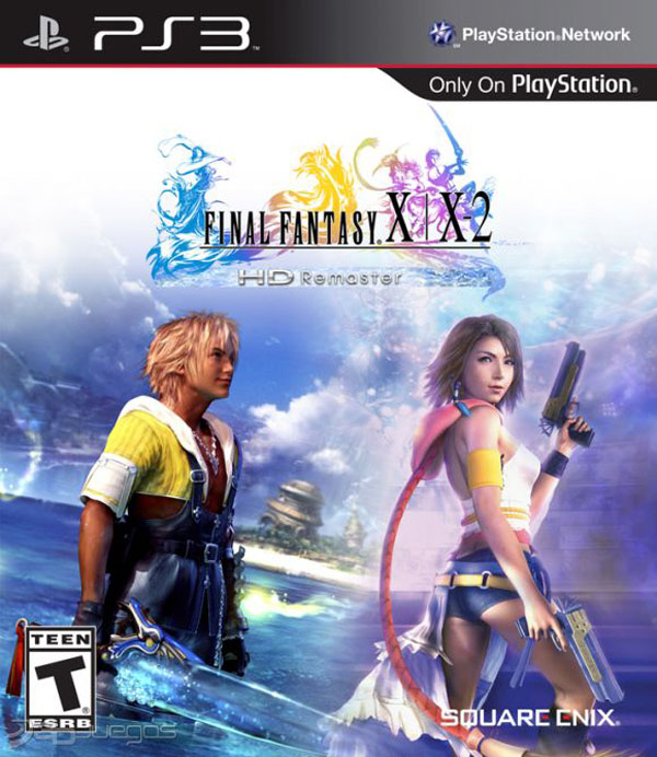 Final Fantasy X Video Game Back Title by WonderClub