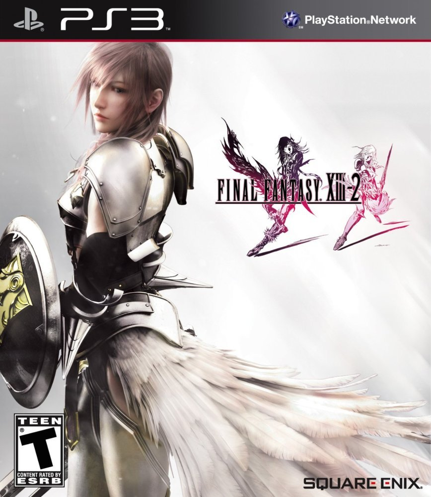Final Fantasy XIII-2 Video Game Back Title by WonderClub