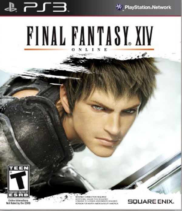 Final Fantasy XIV Video Game Back Title by WonderClub