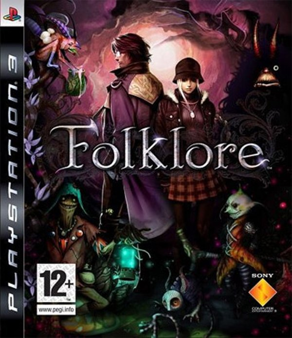Folklore (video Game) Video Game Back Title by WonderClub