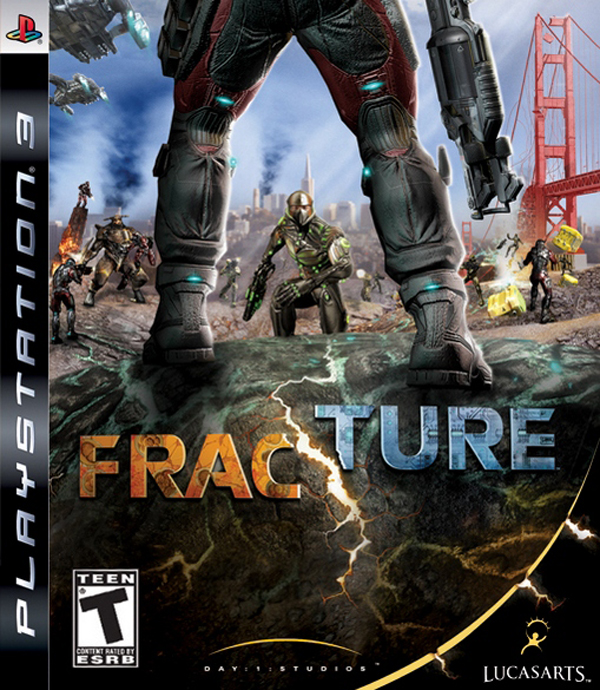 Fracture Video Game Back Title by WonderClub