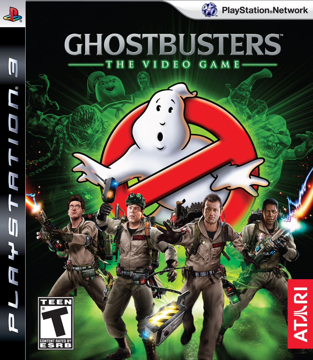 Ghostbusters: The Video Game Video Game Back Title by WonderClub