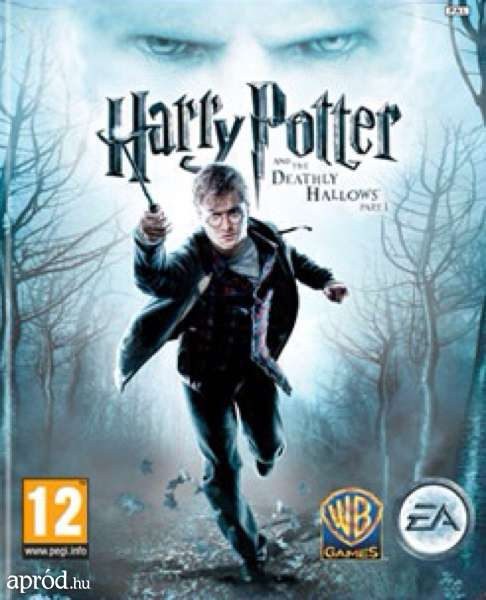 Harry Potter And The Deathly Hallows – Part 1 Video Game Back Title by WonderClub