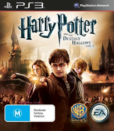 Harry Potter And The Deathly Hallows – Part 2 Video Game Back Title by WonderClub