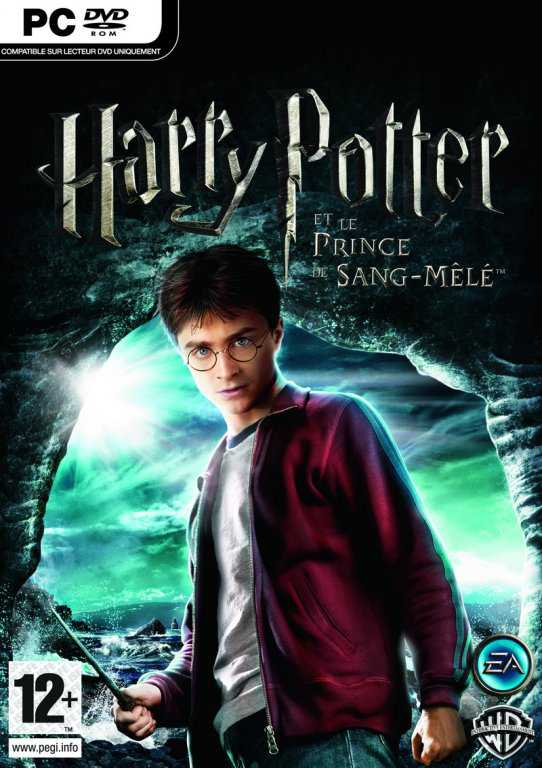 Harry Potter And The Half-Blood Prince  Video Game Back Title by WonderClub