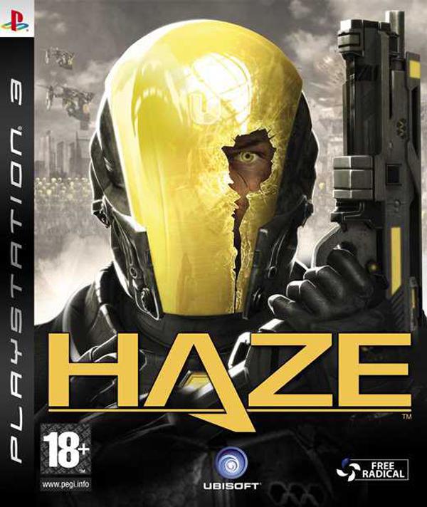 Haze  Video Game Back Title by WonderClub