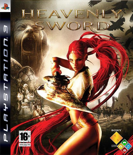 Heavenly Sword Video Game Back Title by WonderClub