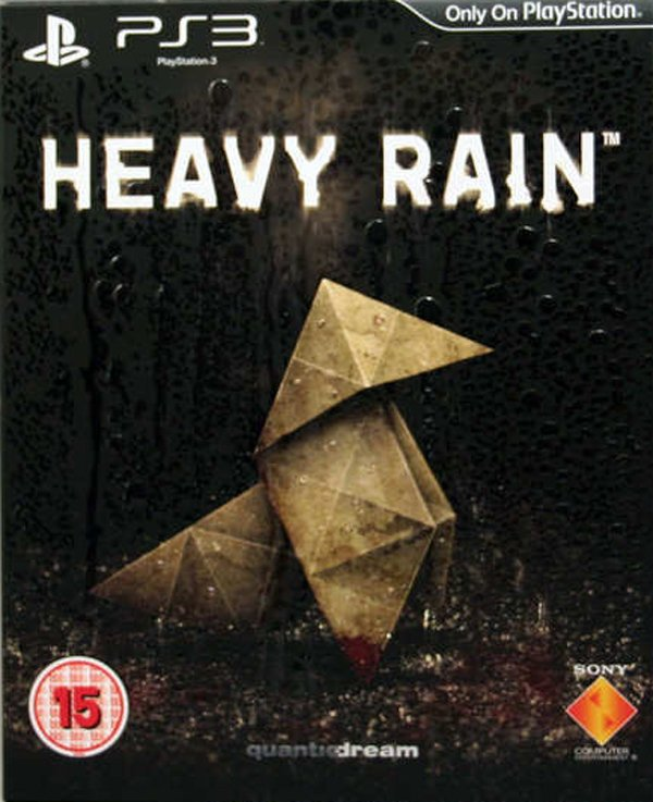 Heavy Rain Video Game Back Title by WonderClub