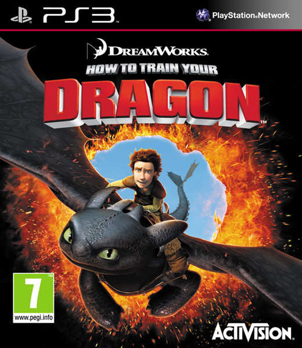 How To Train Your Dragon  Video Game Back Title by WonderClub