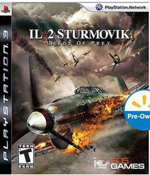 IL-2 Sturmovik: Birds Of Prey Video Game Back Title by WonderClub