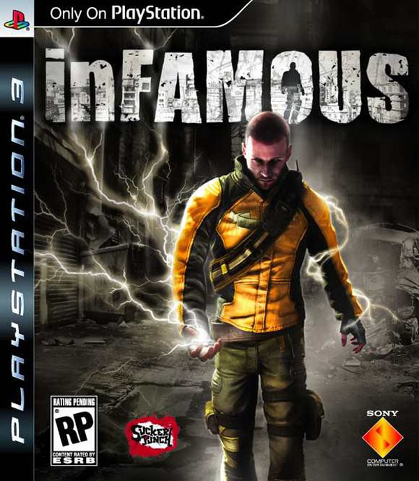 Infamous  Video Game Back Title by WonderClub