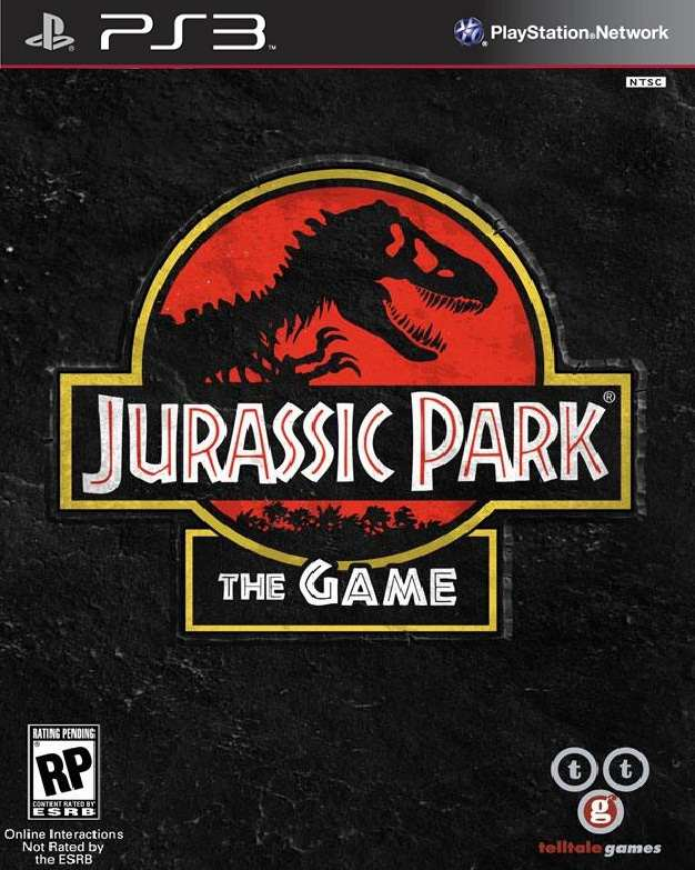 Jurassic Park: The Game Video Game Back Title by WonderClub