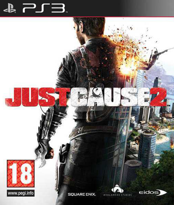Just Cause 2 Video Game Back Title by WonderClub