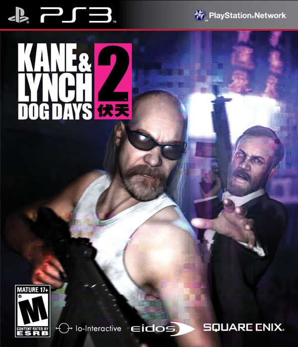 Kane & Lynch 2: Dog Days Video Game Back Title by WonderClub