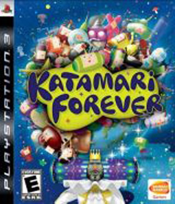Katamari Forever Video Game Back Title by WonderClub