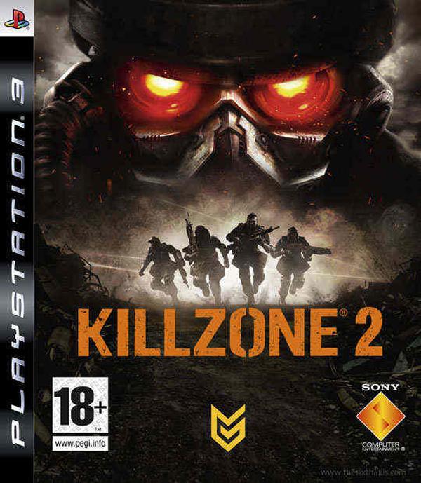 Killzone 2 Video Game Back Title by WonderClub
