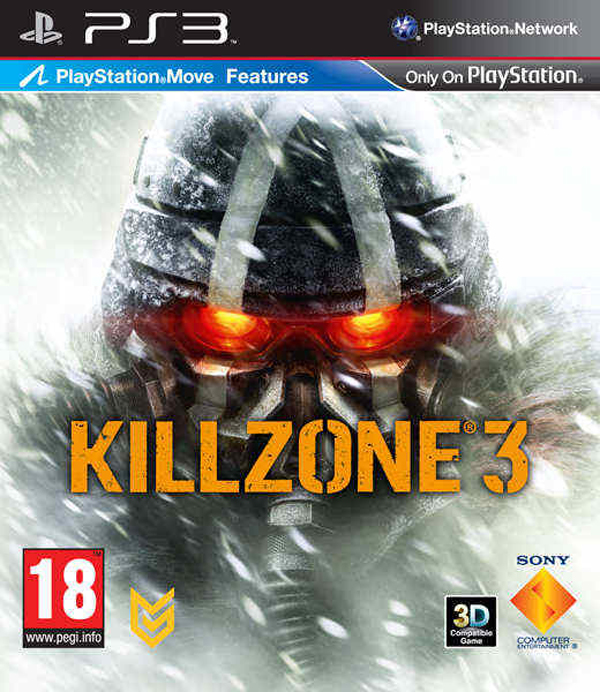 Killzone 3 Video Game Back Title by WonderClub