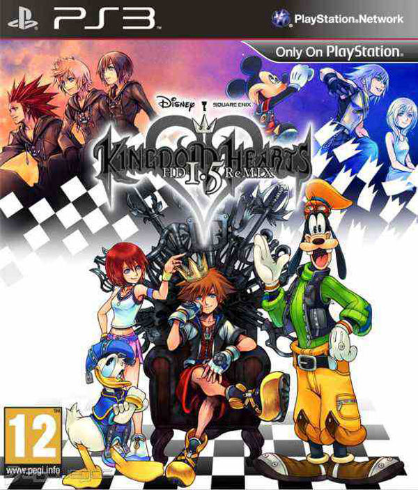 Kingdom Hearts HD 1.5 Remix Video Game Back Title by WonderClub