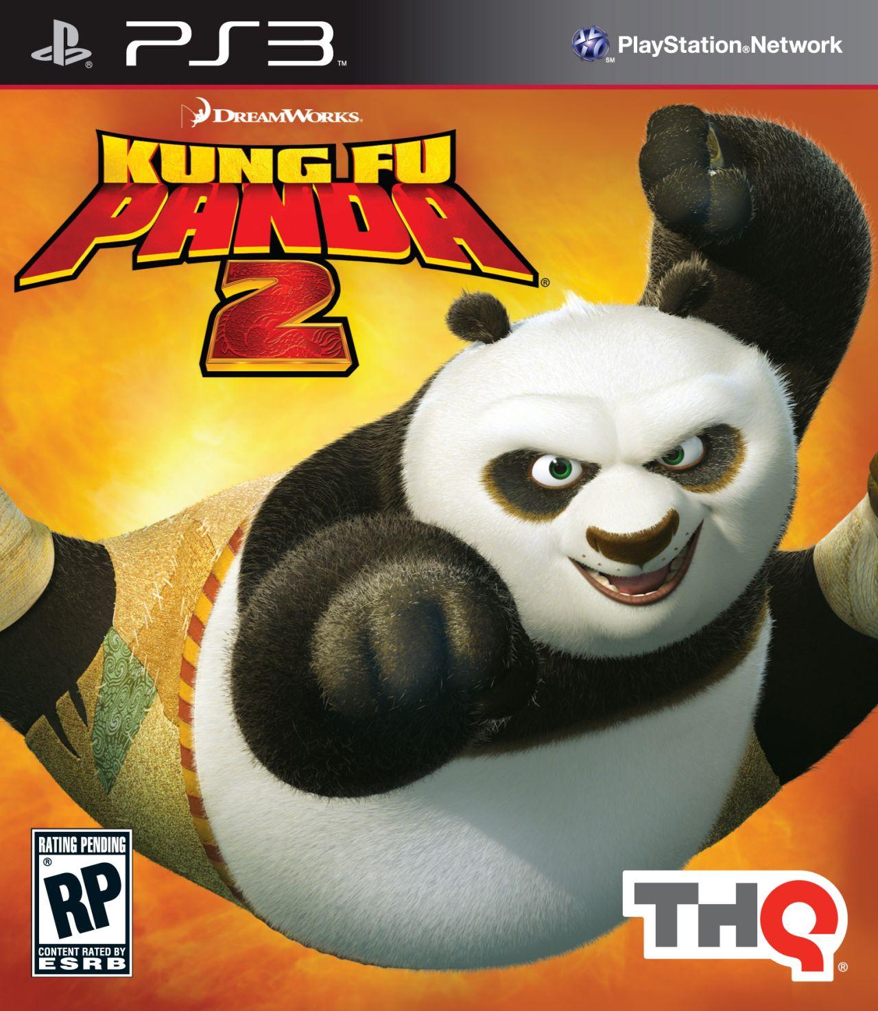 Kung Fu Panda 2  Video Game Back Title by WonderClub