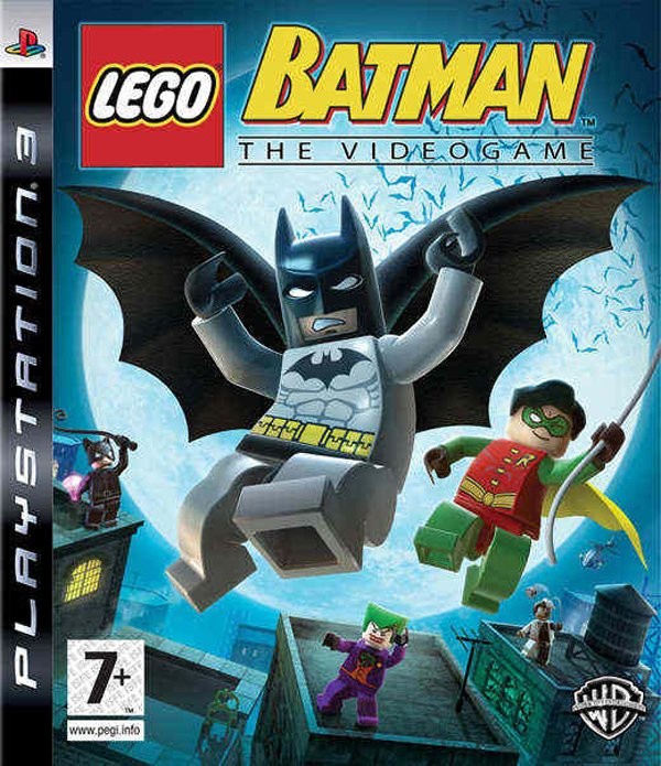 Lego Batman: The Videogame Video Game Back Title by WonderClub