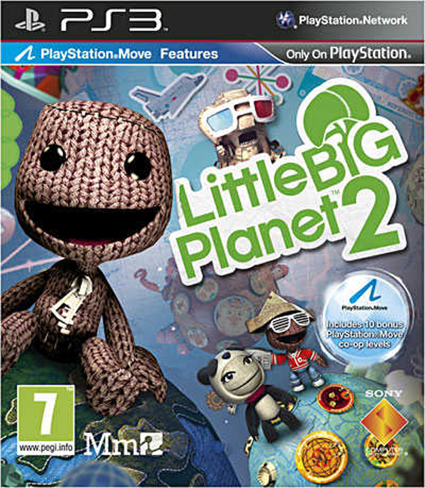 LittleBigPlanet 2 Video Game Back Title by WonderClub